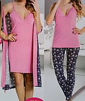 Женский халат пижама и ночнушка