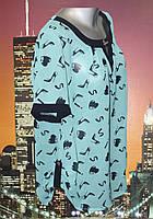 Блузка женская летняя батальная