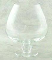 Ваза бокал коньячный. Высота 180 мм, диаметр 150.Ваза  для флористики, цветов и свечей