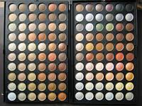 Палитра теней 120 цветов №4 (теплые\нейтральные) MAC