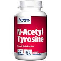 L- ацетил тирозин, Jarrow Formulas, 350 мг, 120 капсул