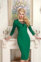 Изумительное платье футляр с кружевом