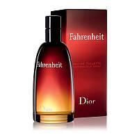 Мужская туалетная вода Christian Dior Fahrenheit Кристиан Диор Фаренгейт