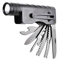 Многофункциональный нож-фонарь Police G01 XPE