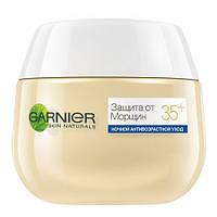 Garnier Ночной крем для кожи лица Гарньер Скин Нэчралс Защита от Морщин 35+ Баночка, Объем: 50мл