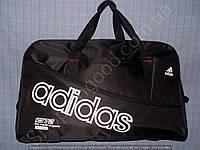 Багажная сумка Adidas 114131 большая (63х40х25, см) черная спортивная дорожная текстиль плечевой ремень