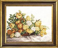 Желтые хризантемы М-199