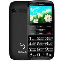 Бабушкофон Sigma mobile Comfort 50 Slim Black