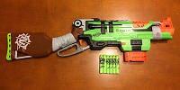 Бластер Нерф  Nerf Zombie Strike SlingFire Blaster