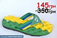 Шлепанци вьетнамки Найк Nike реплика Clima Cool с вентилируемой подошвой желто зеленые мужские босоножки