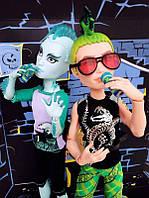 Monster High Mansters 2-pack Gil Webber and Deuce Gorgon Набор кукол Монстер хай Гил Веббер и Дьюс Горгон