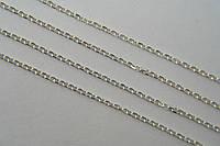 Тонкая женская цепочка из серебра 925 - плетение Якорь