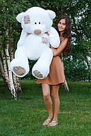 Плюшевый мишка «Гриша» 140 см (белый)