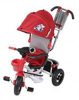 Велосипед трехколесный Mini Trike с капюшоном надувные колеса