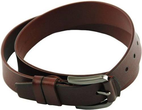 Практичный мужской кожаный ремень 3,5 см. Traum 8715-13, светло-коричневый