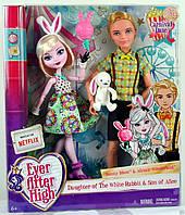 Набор кукол Банни Бланк и Алистер Вондерленд Свидание на карнавале Эвер Афтер Хай (Ever After High Carnival Da