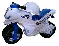 Каталка-мотоцикл с шлемом