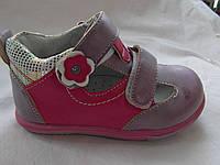 Полузакрытые туфли для девочки