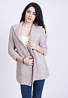 Вязанный кардиган модного фасона, фото 1