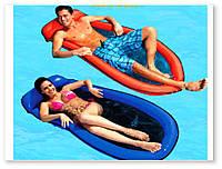 Надувной пляжный матрас с сетчатым дном Intex 58836