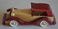 Статуэтка из дерева - старинный авто
