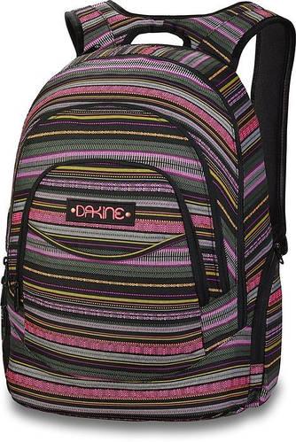 """Классный женский рюкзак с отделением для ноута 14"""" Dakine PROM 25L fiesta 610934897326 разноцвет"""