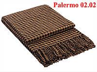 Плед  полуторный 140х200, тм. VLADI, Палермо «Palermo» 02.02 (бел-беж)