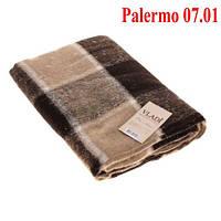 Плед  полуторный 140х200, тм. VLADI, Палермо «Palermo» 07.01 (бел-беж)
