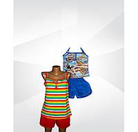Пижама летняя для девочки, подростковая, 100 % хлопок. р.р.36-42.
