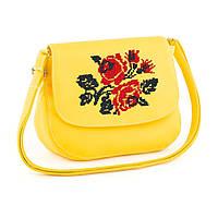 Женская вышитая сумочка Розы