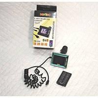 FM-модулятор FM-254 с автомобильной зарядкой для IPHONE 5/6 (2,1А) (9336)