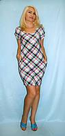Платье неоновый ромбик
