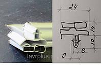 Резина для холодильников магнитная  по Вашим размерам  ( Ласточкин хвост) ( Snaige)