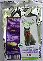 Чепурун сорбент запахов для туалета животных порошок 200гр