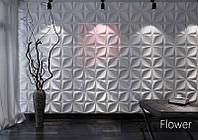 Гипсовые 3D панели Flower