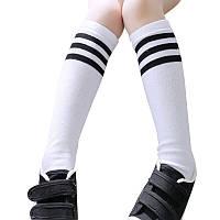 Гольфы, гетры, носки высокие, футбольные спортивные, унисекс, белые, р. 5-10 лет