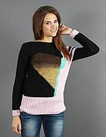 Классический прямой свитер, фото 1