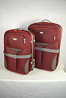 Дорожный чемодан  2 шт в комплекте(бордо) 62
