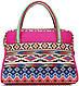 Замечательная женская сумка из текстиля Traum 7214-07, розовый, фото 2