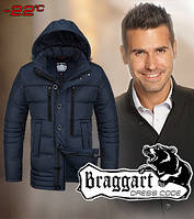 Куртка с тёплым капюшоном мужская зимняя