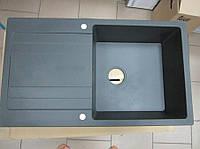 Гранитная кухонная мойка  Pyramis Vira 86 (карбон)
