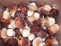 Gefrorene weiße Pilze (ganz, in Scheiben geschnitten)