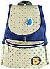 Симпатичный детский рюкзак из холста  14 л Traum 7006-12, синий