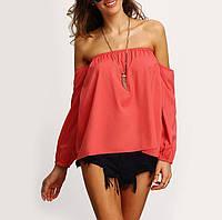 Блузка с оголёнными плечами
