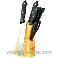 Набор кухонных ножей и ножницы Peterhof SN-2211, кухонная посуда, набор ножей +подставка +ножницы