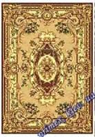 """Синтетический ковер эконом-сегмента Gold Karat """"Живой орнамент"""", цвет бежевый"""