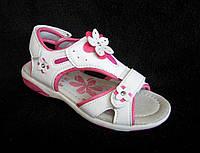 Белые спортивные сандалии для девочки р 30,31