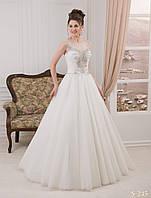 Шикарное свадебное платье с изумительным индийским украшением