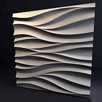 Стеновая 3D панель Органза