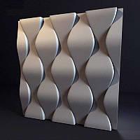 Стеновая 3D панель Чешуя